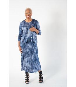 Alembika Marbled Knit Jacket