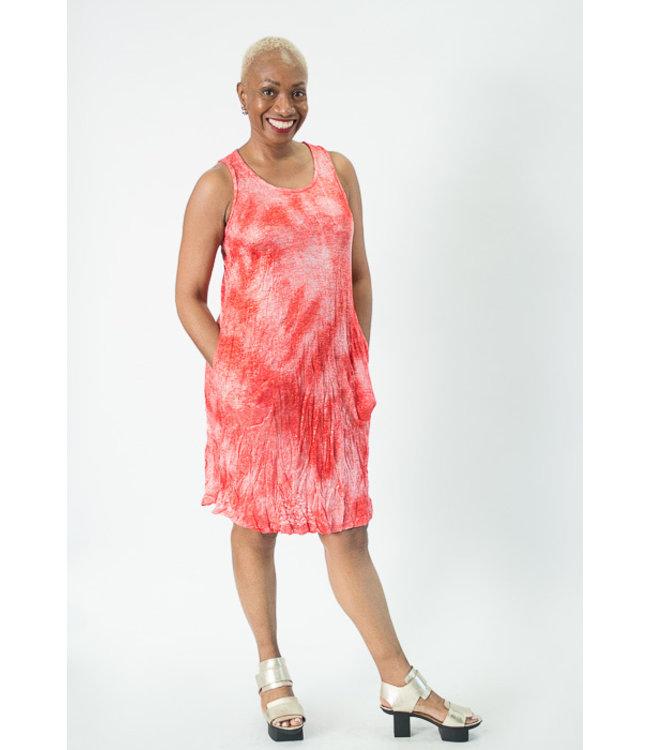 1e9bd5dd329046 Alembika Knit Marble Tank Dress, SD428C   shopeechicago.com ...