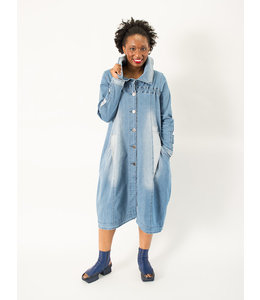 KEKOO Denim Coat