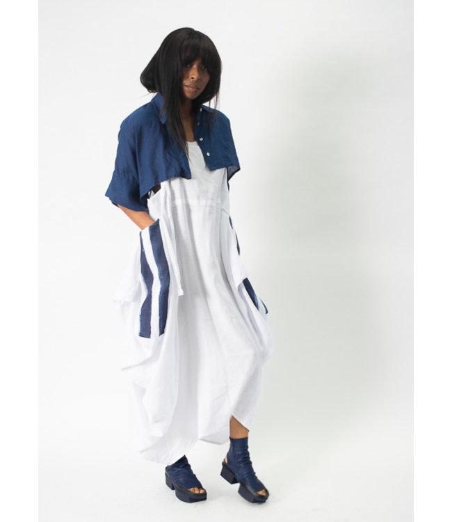 Banana Blue Catalina Stripe Dress