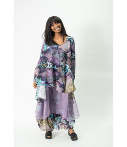 Krista Larson Eco Print Teal Shirt