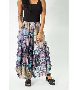 Krista Larson Eco Print Teal Pants