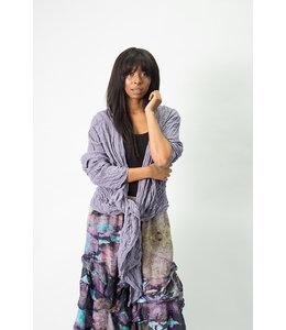 Krista Larson Violet Cotton Jacket