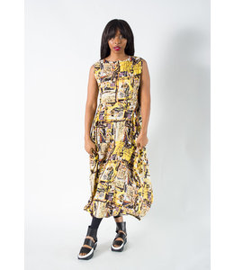 Luukaa Nicole Print Dress