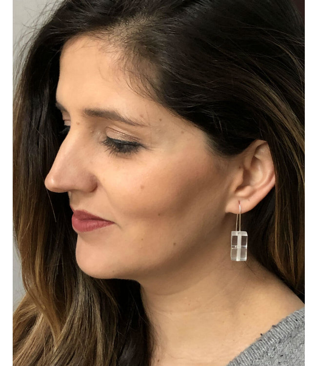Sylca Cube Earring