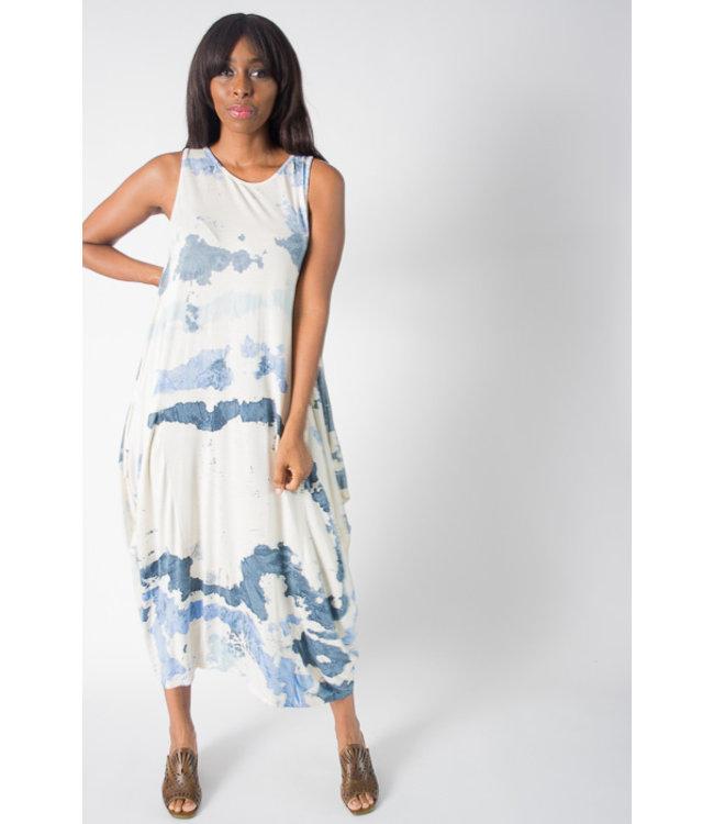 Watercolor Tank Dress
