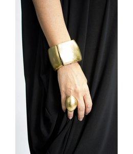 Monies Gold Foil Bracelet