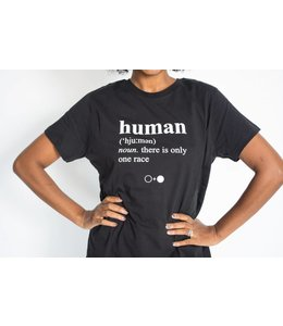 A Black and White Story HUMAN T-Shirt