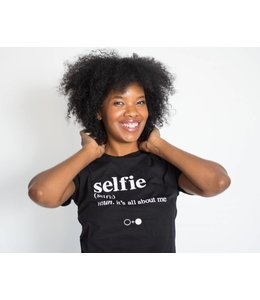 A Black and White Story SELFIE T-shirt