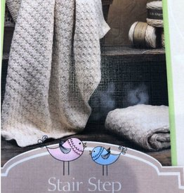 Yarn STAIR STEP BABY BLANKET KIT