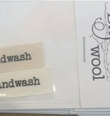Accessories HANDWASH<br />  SEW IN TAGS