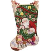Canvas DOLL CHRISTMAS 383B