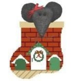 Canvas MOUSE HOUSE W/ MOUSE STUFFER  CM221