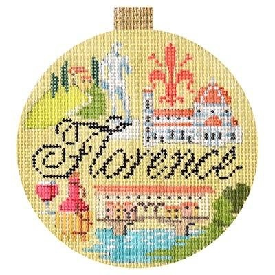 Canvas FLORENCE TRAVEL ROUND  KB1360