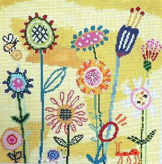 Canvas AMY'S YELLOW GARDEN  AS401