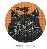 Canvas BLACK CAT ORNAMENT MLT504C