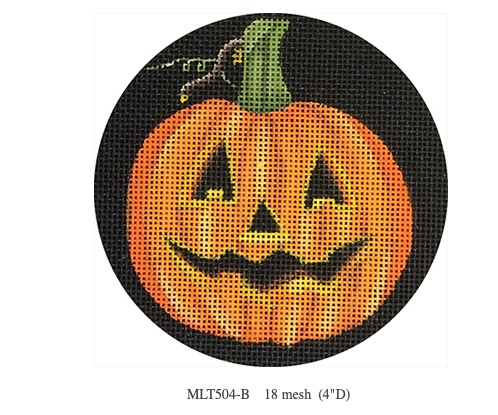 Canvas PUMPKIN ORNAMENT MLT504B