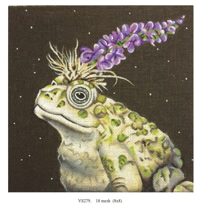 Canvas SYLVIE THE TOAD  VS279