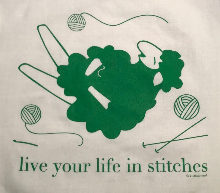 Accessories LIVE YOUR LIFE IN STITCHES PROJECT BAGS