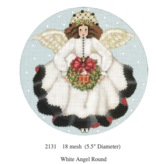 Canvas WHITE ANGEL ROUND 2131