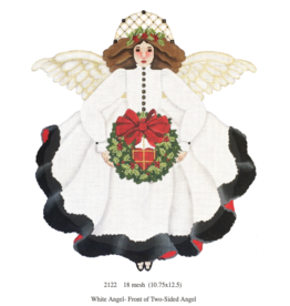 Canvas WHITE ANGEL 2-SIDED 2122