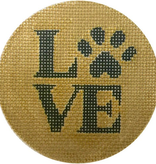 Canvas LOVE PAW  X303