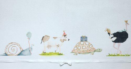 Canvas PARTY ANIMALS  15EE