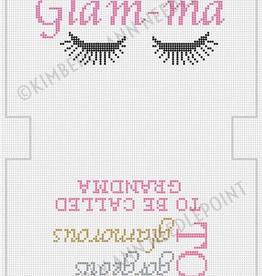 Canvas GLAMMA MAKE-UP BAG  MB21