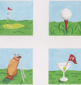 Canvas GOLF COASTER SET  COP13