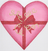 Canvas VALENTINE BOX HEART  OM257