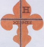 Canvas HERMES FLEUR-DE-LYS  OM63