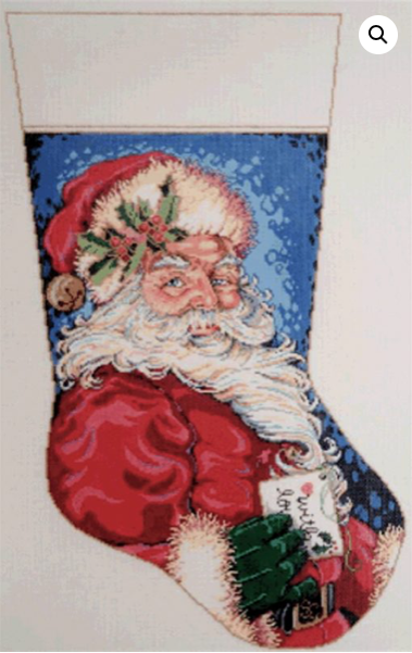 Canvas JOLLY STOCKING  16-133