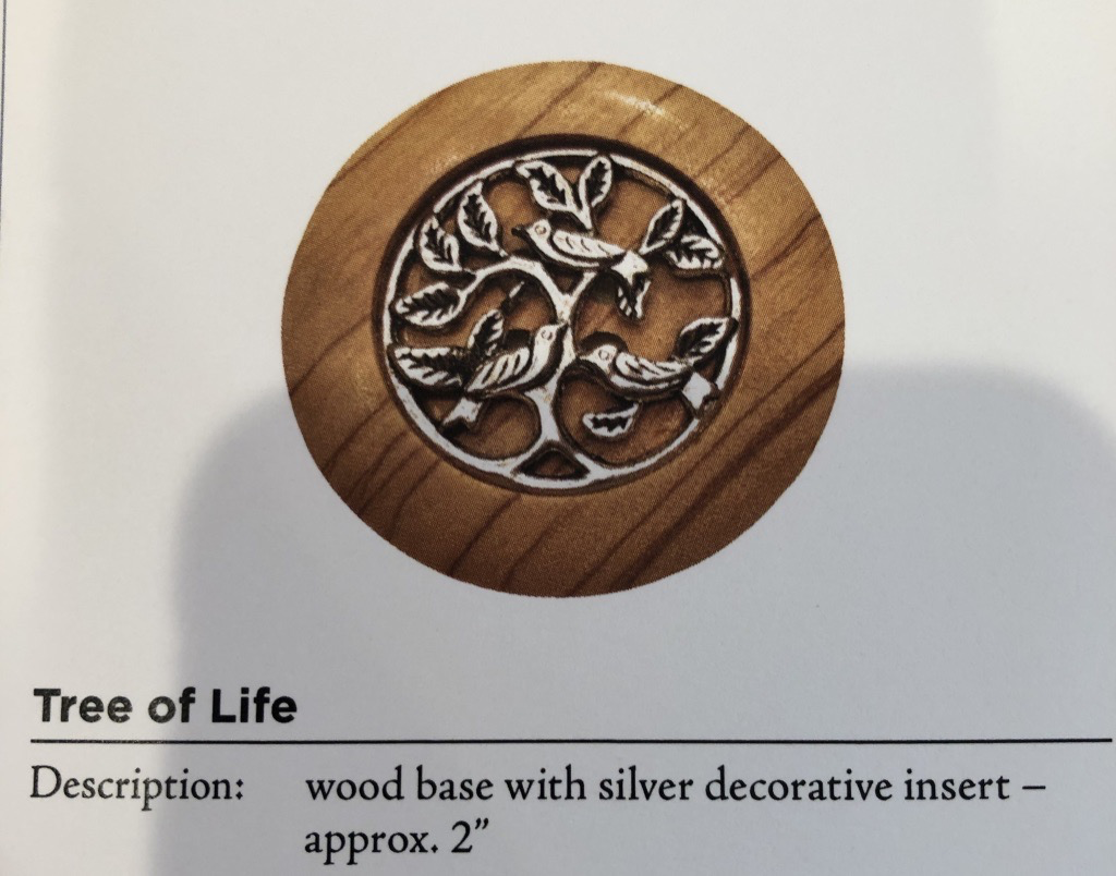 Accessories TREE OF LIFE MAGNETIC CLOTHEZURE
