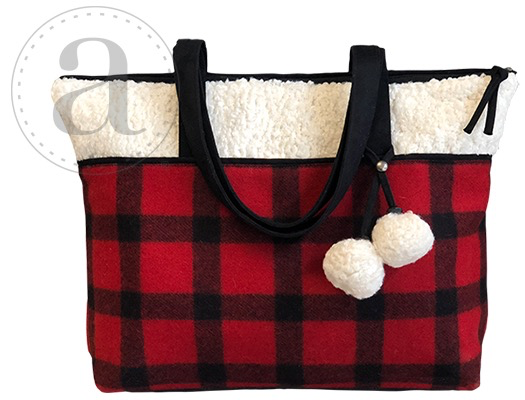 Accessories ATENTI SATCHEL BUFFALO PLAID
