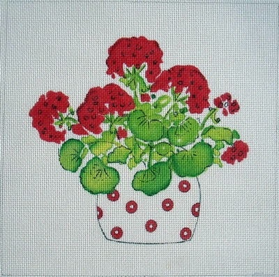 Canvas GERANIUMS  GIN02