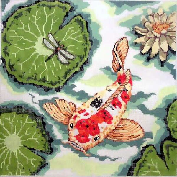 Canvas KOI PILLOW II  P87