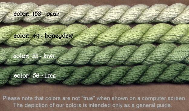 Fibers Silk and Ivory    LIME