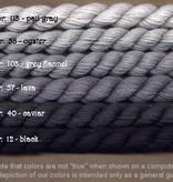 Fibers Silk and Ivory    PAIL GRAY
