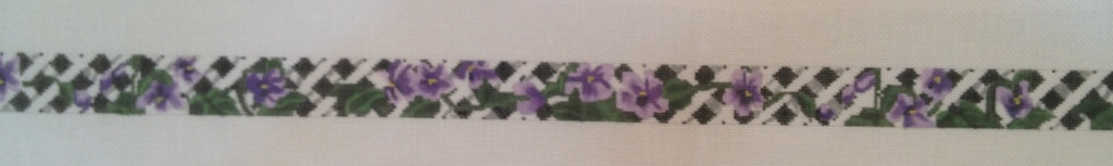 Canvas VIOLETS BELT  BL139