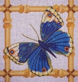 Canvas BLUE BUTTERFLY  B11