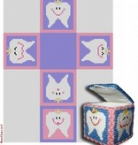 Canvas TOOTH FAIRY BOX - GIRL