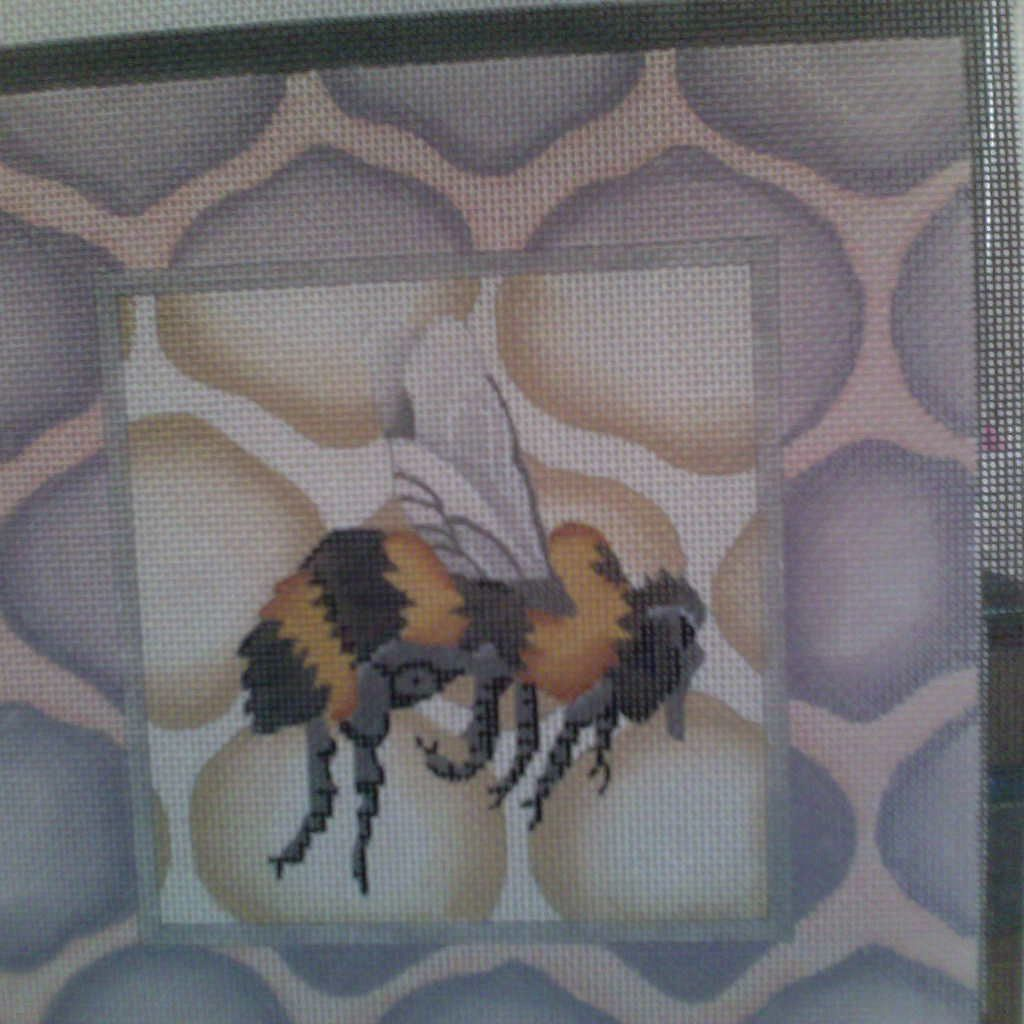 Canvas BUMBLEBEE HONEYCOMB  405