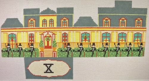 Canvas 10 LORDS A LEAPING HOUSE XO181
