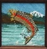 Canvas STRAND KIT -  RAINBOW TROUT