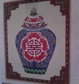 Canvas GINGER JAR  WHC578