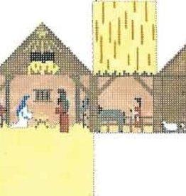 Canvas NATIVITY MINI HOUSE  5501-13