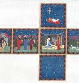 Canvas NATIVITY CUBE  0205-13