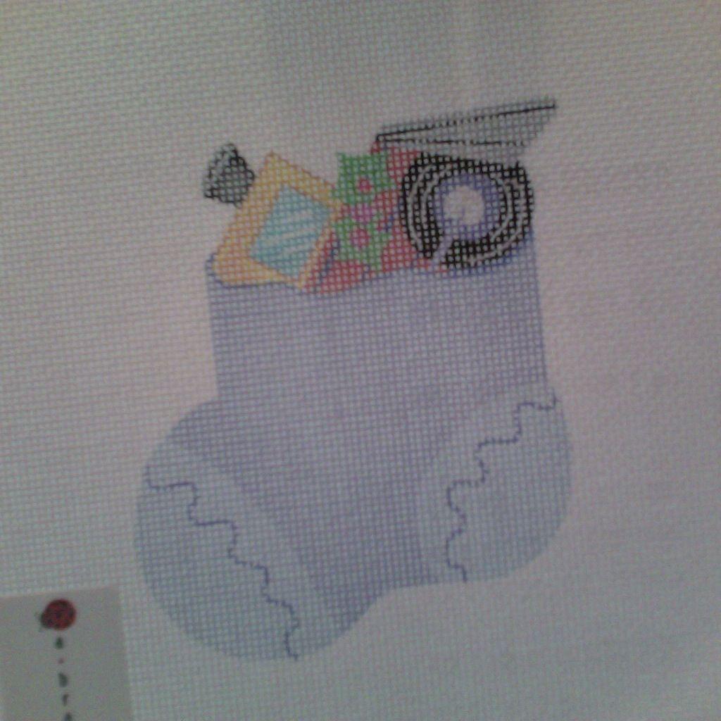 Canvas IT'S A BOY MINI SOCK AB48