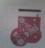 Canvas KITTY MINI SOCK  AB11