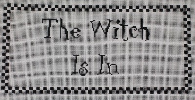 Canvas WITCH IS IN